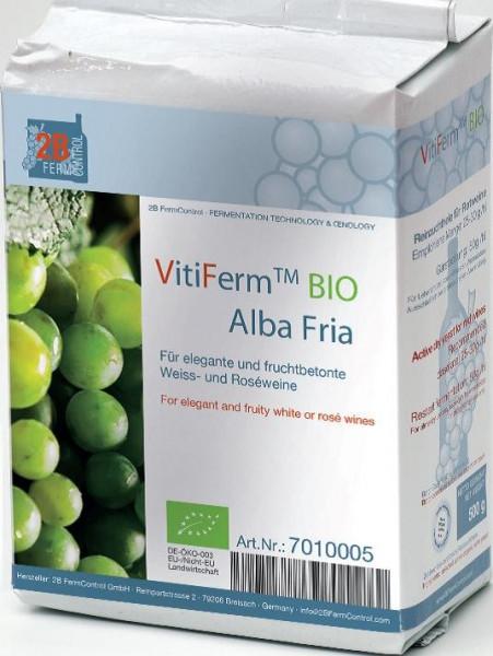 2B Trockenreinzuchthefe VitiFerm Alba Fria BIO