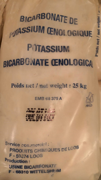 Kaliumhydrogencarbonat - Bicarbonate Oe 25 kg